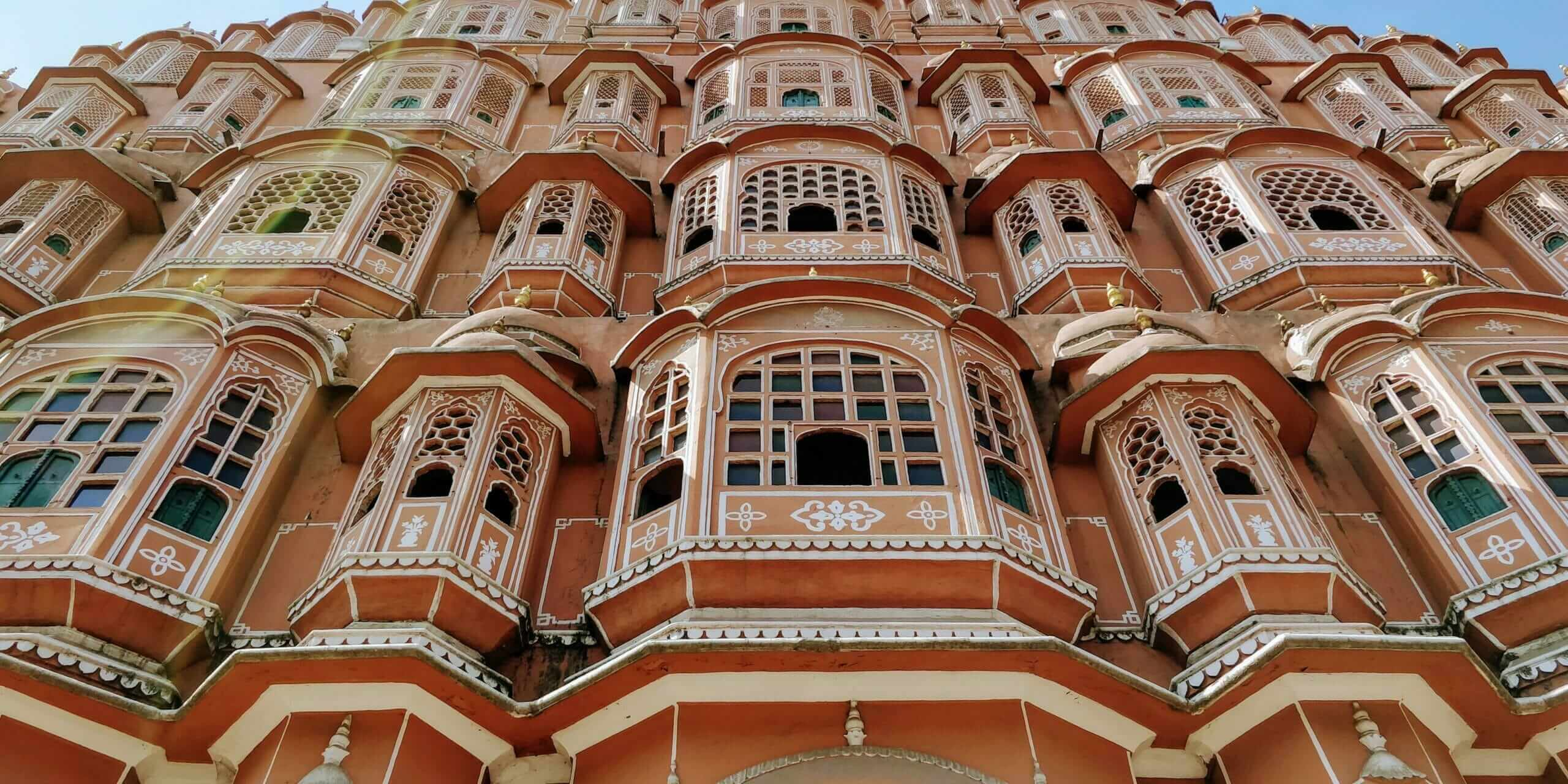 Hawa Mahal in Jaipur, India also know as Palace of the Winds