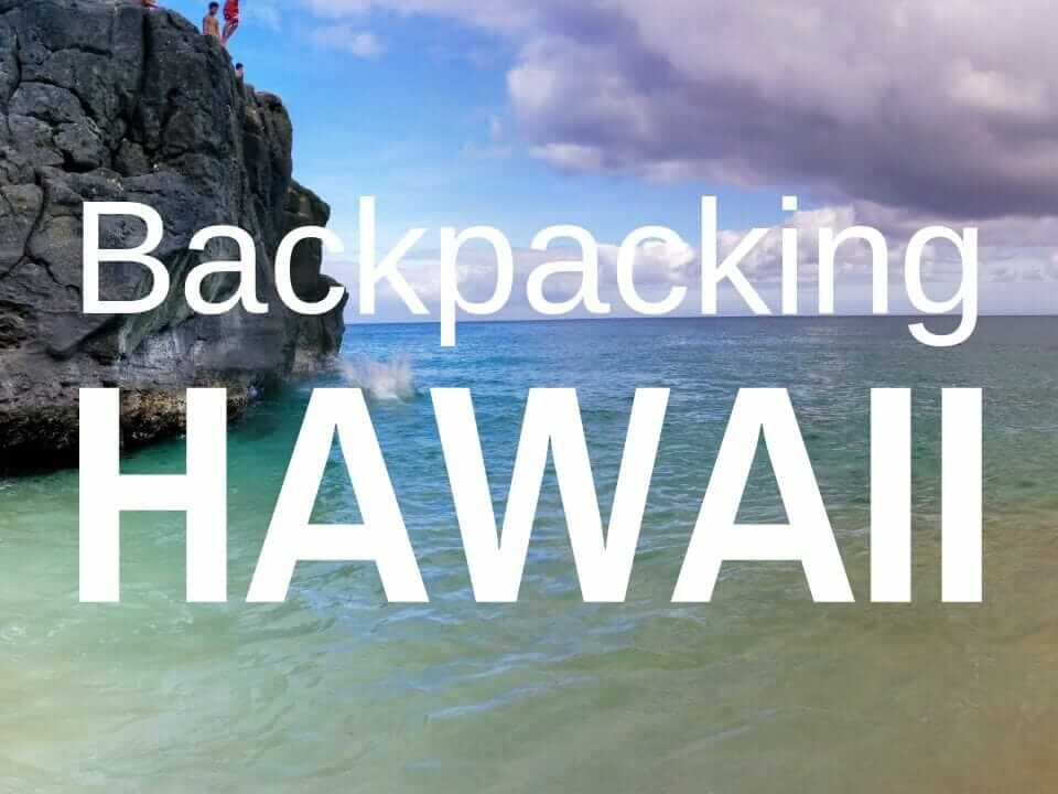 Backpacking Hawaii