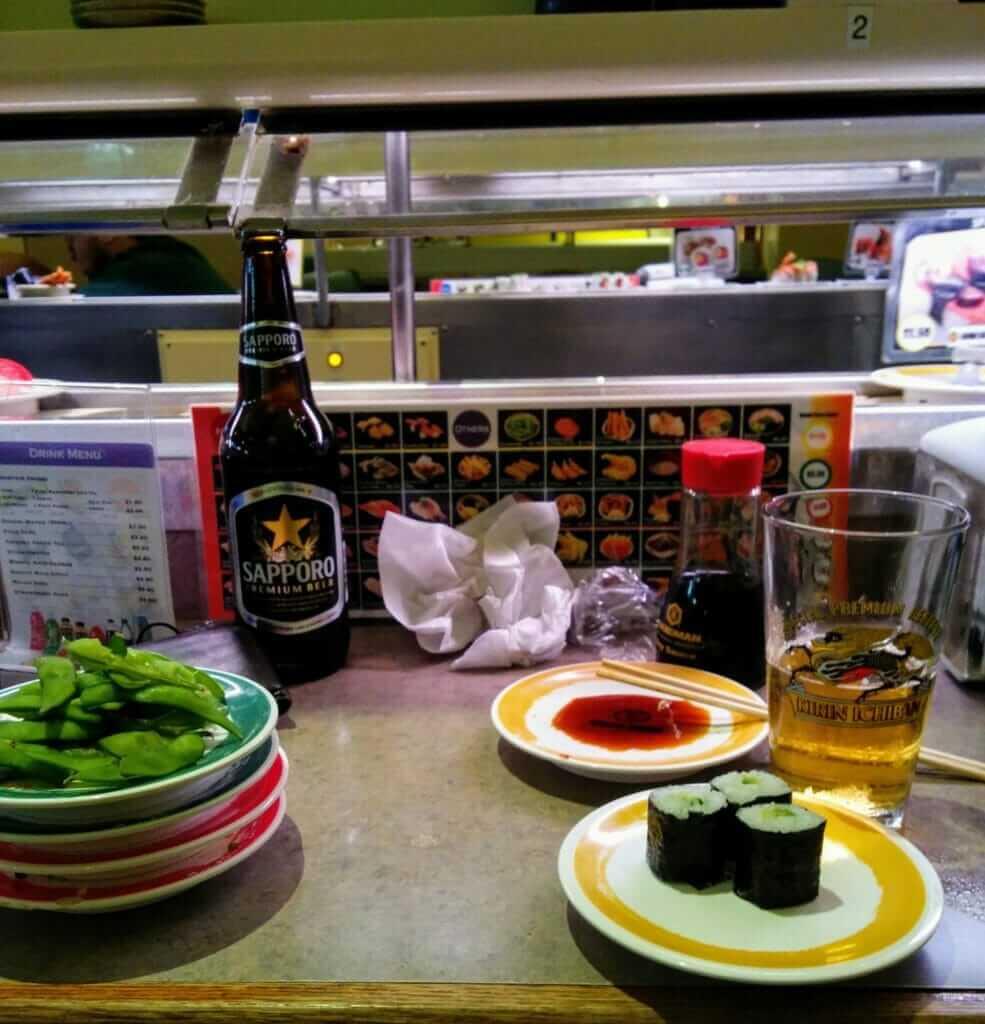 Genki Sushi restaurant Oahu Hawaii