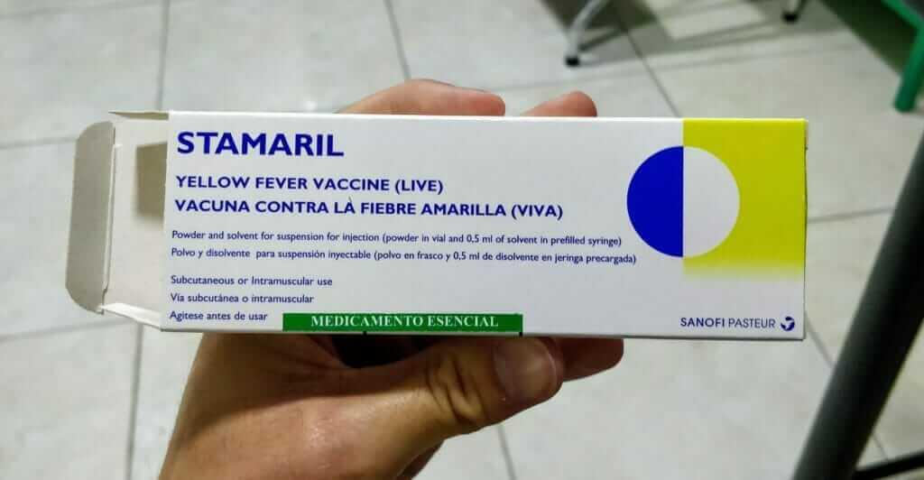Stamaril yellow fever vaccine