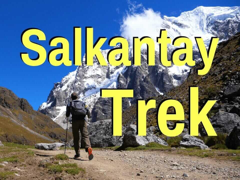 Salkantay trek in Peru