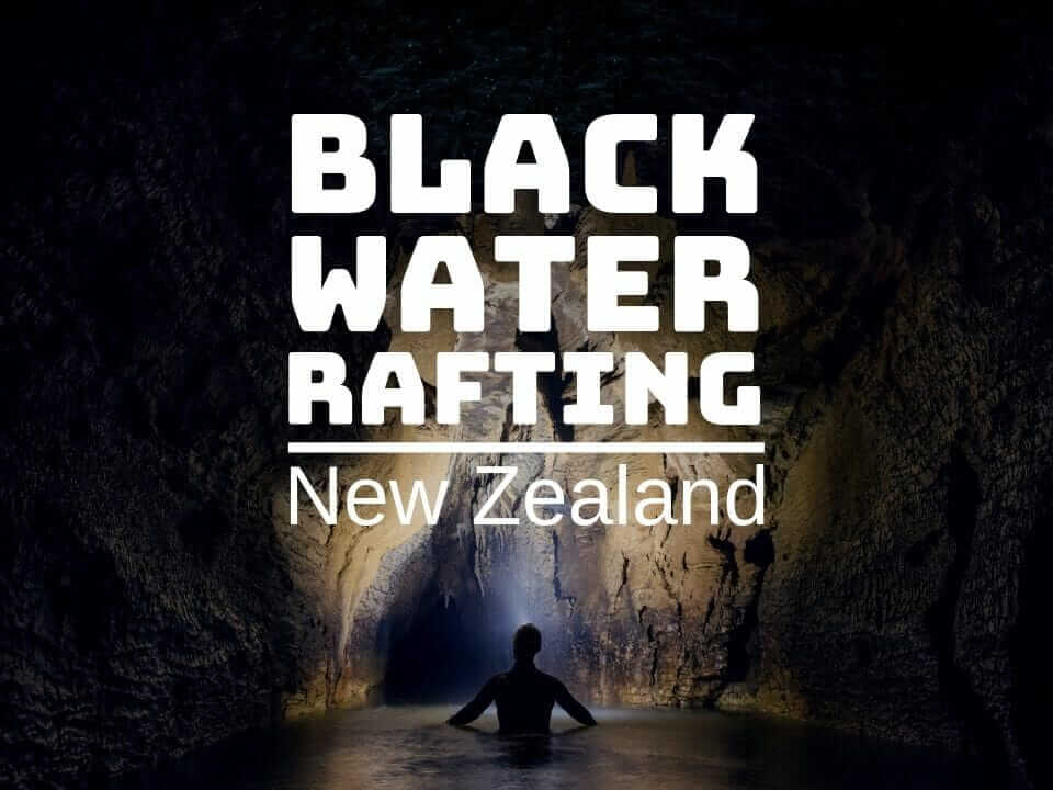 Black water rafting Waitomo caves