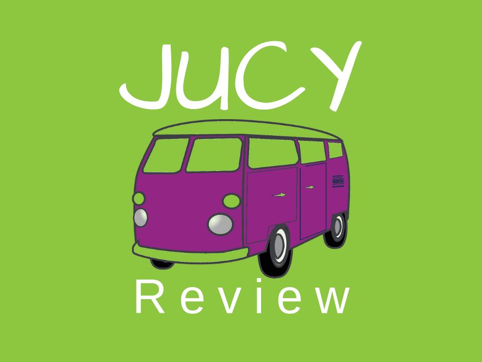 JUCY van and campervan rental review