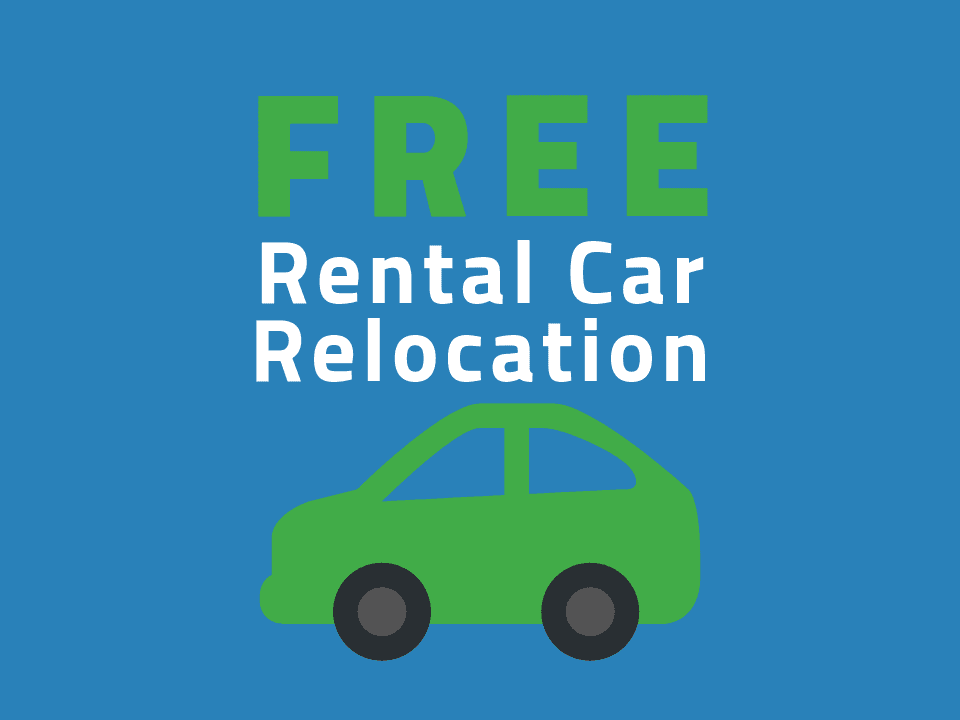 Transfercar free rental car relocation