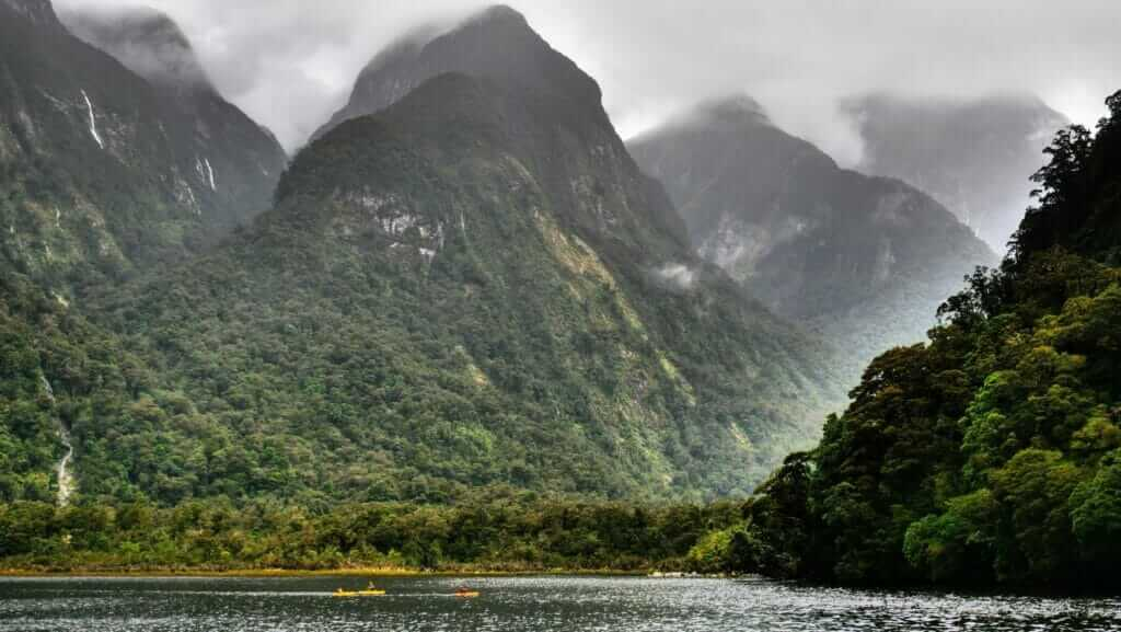 Doubtful Sound overnight cruise view picture