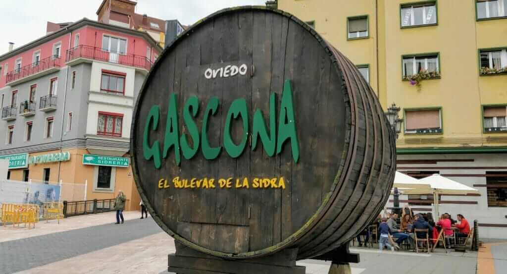 Gascona el bulevar de la sidra in Oviedo