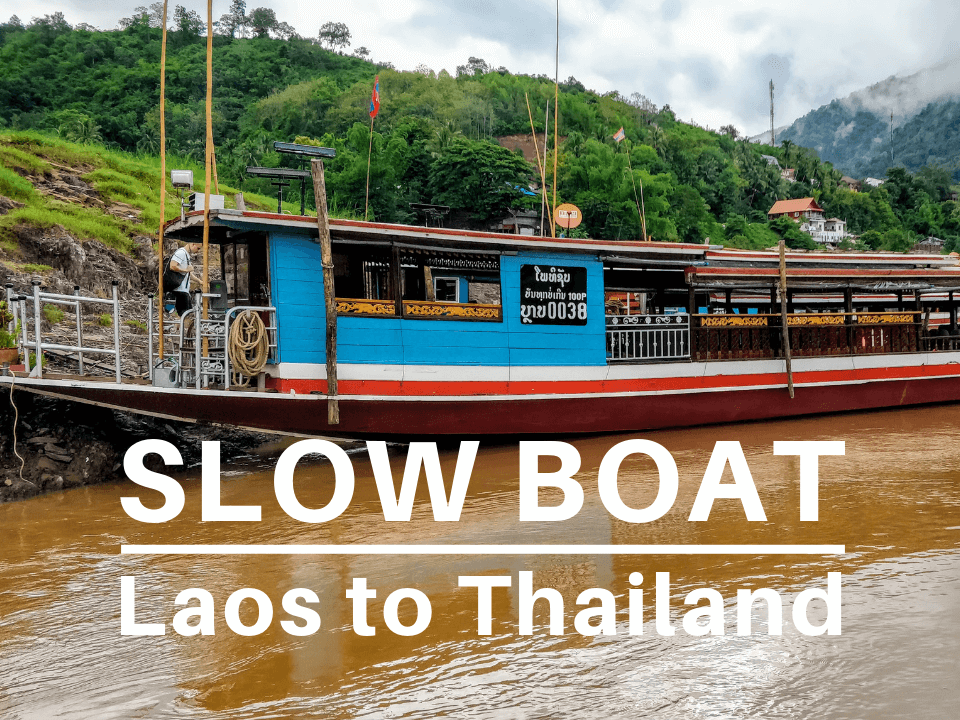 Slow boat Laos to Thailand