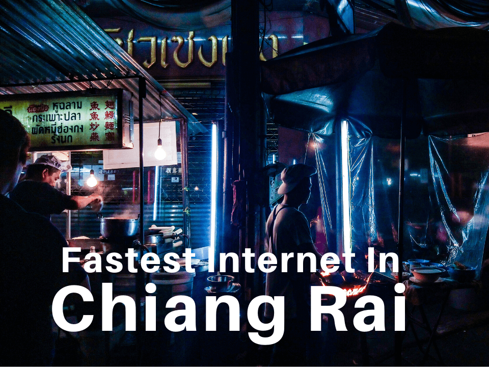 Chiang Rai fast internet for digital nomads