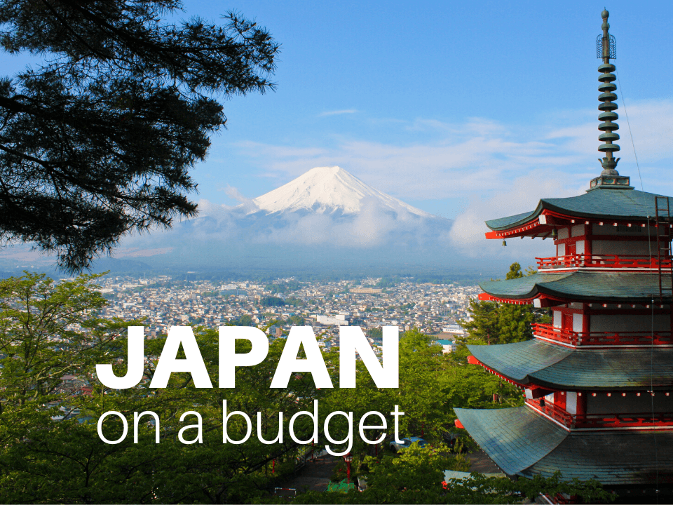 Japan budget travel tips