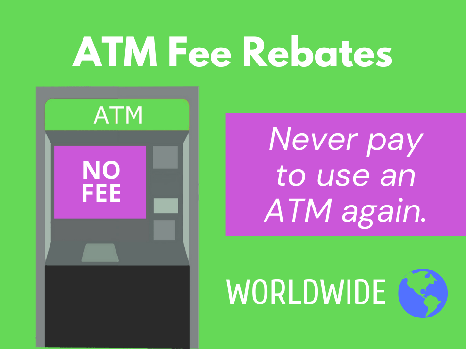 How to get AMT fee rebates anywhere in the world